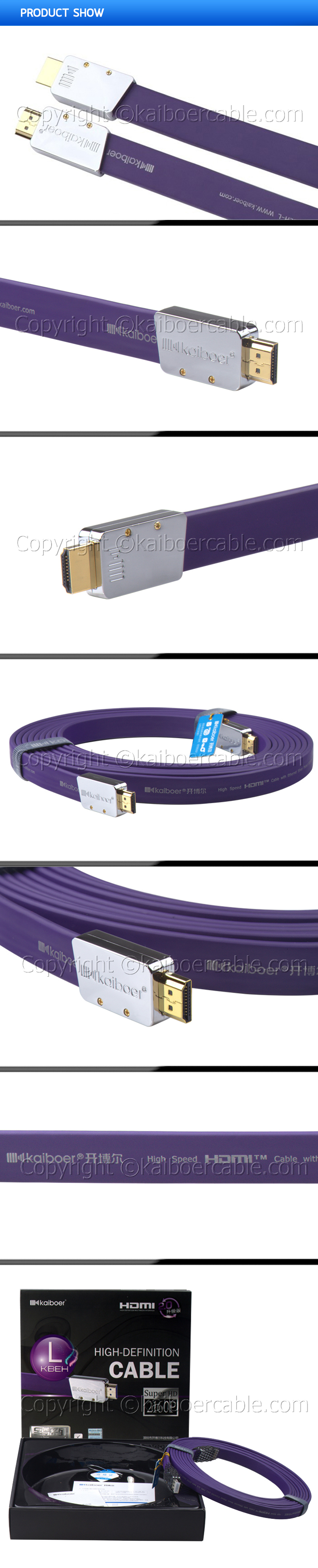 Kaiboer_KBEH_L_Series_HDMI_Cable_Product_Show