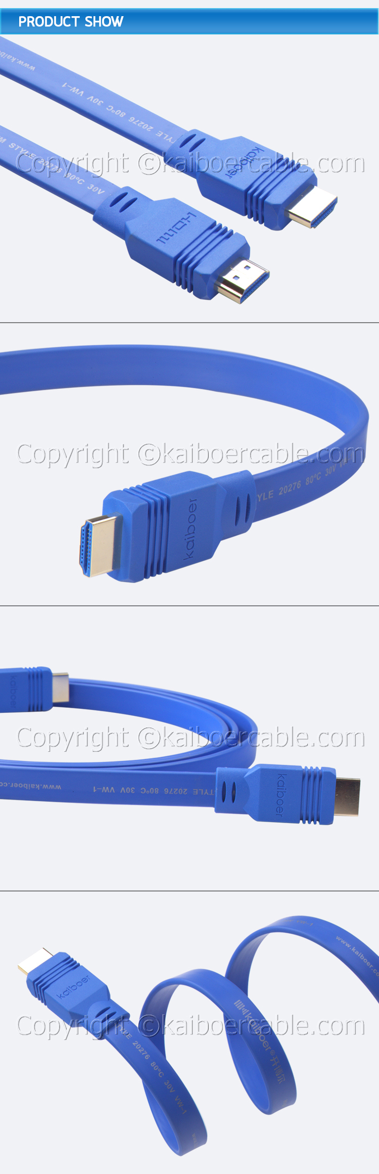 Kaiboer_KBE_HD_Series_Flatline_HDMI_Cable_4
