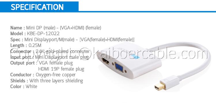 Kaiboer_Mini Displayport_to_VGA_HDMI_2