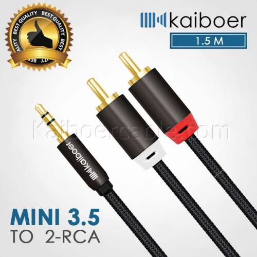 Kaiboer_Mini_35mm_To_Rca_Cable_1_1.5M