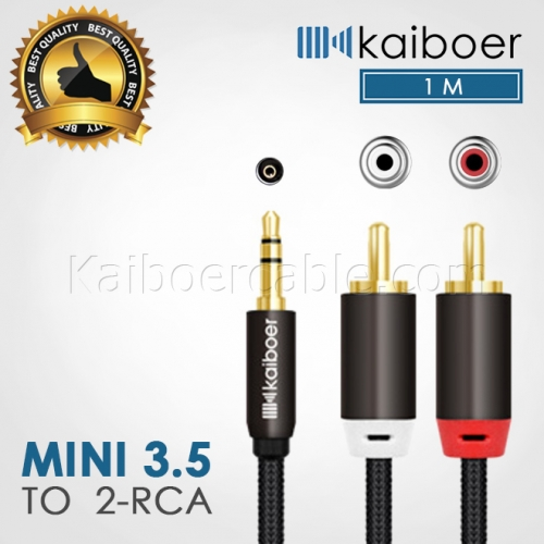Kaiboer_Mini_35mm_To_Rca_Cable_2_1M