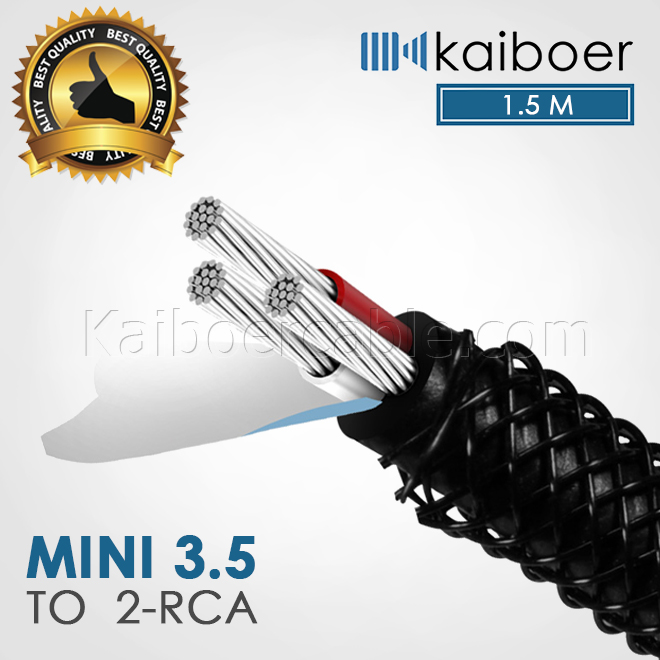 Kaiboer_Mini_35mm_To_Rca_Cable_3_1.5M